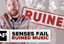 senses fail buddy nielsen
