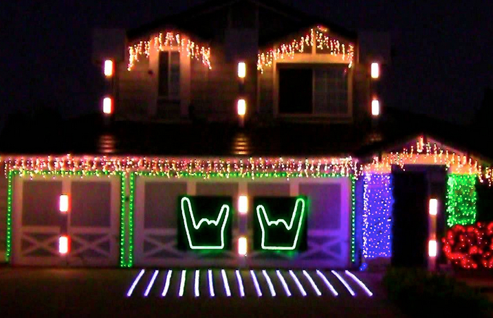 14 rockin\' Christmas light shows that will make you feel festive