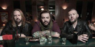 Seether (L-R: John Humphrey, Shaun Morgan, Dale Stewart)