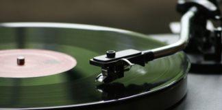 A vinyl record
