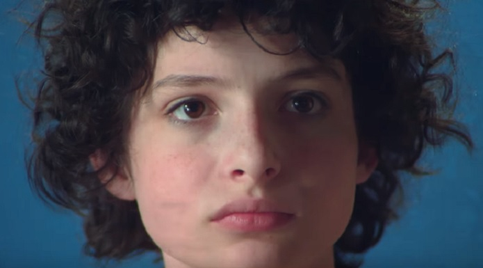Finn Wolfhard in the Ninja Sex Party music video