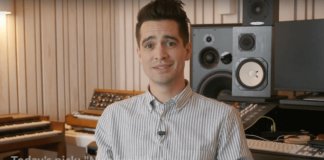 "Brendon Urie calls Drake an ""android from the future"" during his Amazon Music takeover"