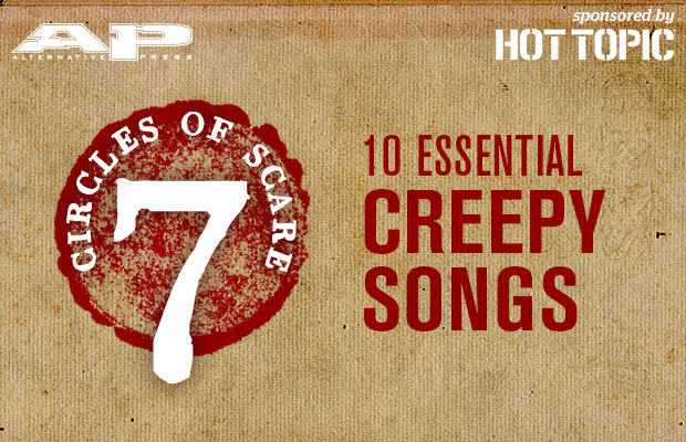 10 Essential creepy songs that will make you want to keep out your