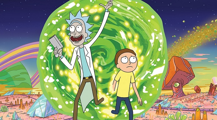 this new rick and morty promo might have secret messages
