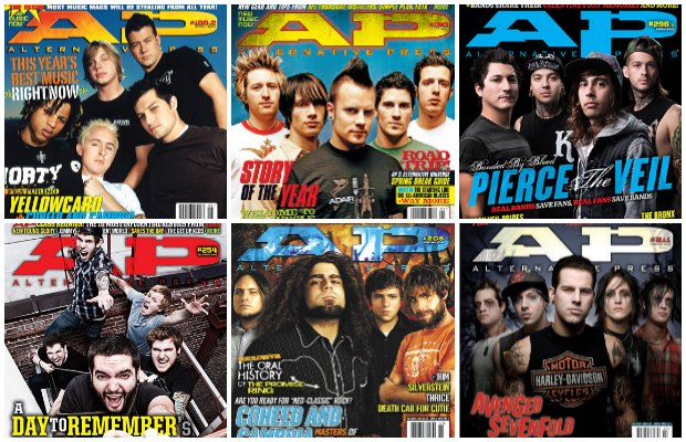 """""""You've Changed, Man:"""" 8 bands that sounded different before they hit AP's cover - Alternative Press"""