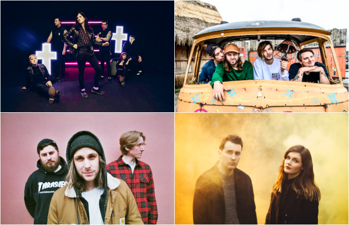 20 Rising UK Bands That About To Take Over The Scene