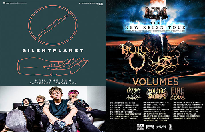 3e59585125 Born of Osiris announce 'The New Reign' anniversary tour, and other news  you might have missed today