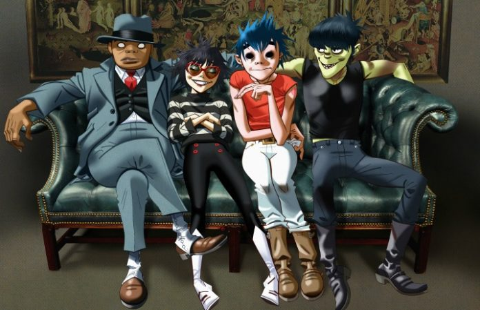 Watch Gorillaz and Noel Gallagher perform their song