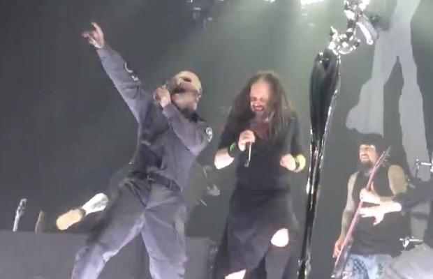 Slipknot's Corey Taylor featured on new Korn song—listen