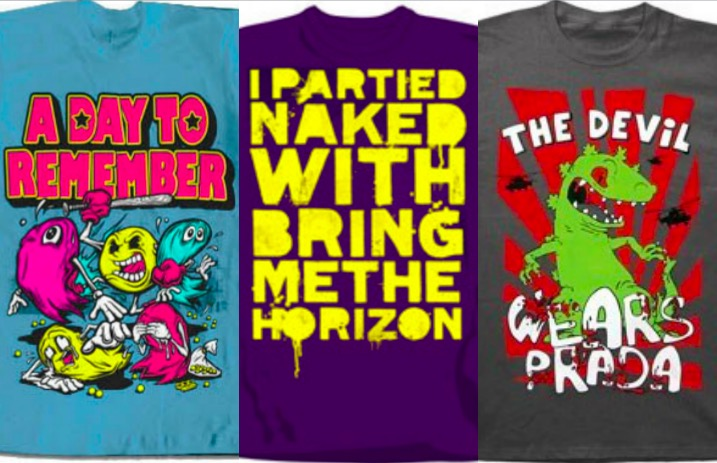 12 band shirts you always hoped to find at Hot Topic - Alternative Press