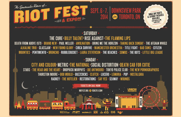 7 Bands You Absolutely Must Watch At Riot Fest Toronto This Weekend - Alternative Press