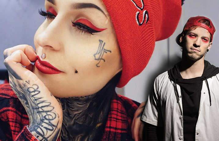6 makeup looks inspired by your favorite bands alternative press