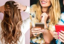 Millennials hair & phones