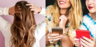 Millennials hair & phones