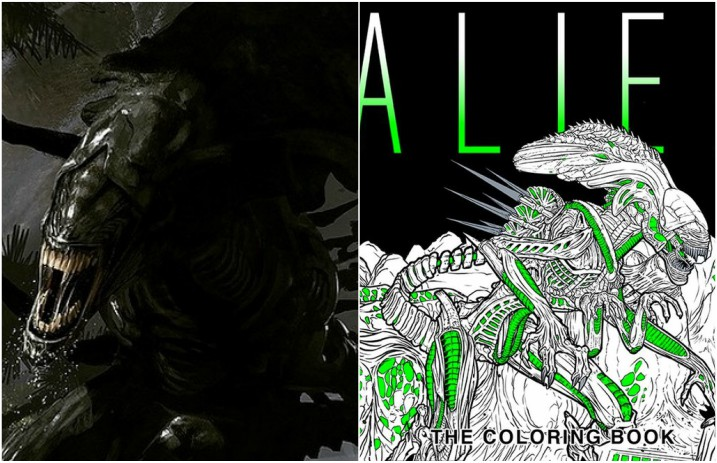 You Can Now Own An Alien Coloring Book Alternative Press
