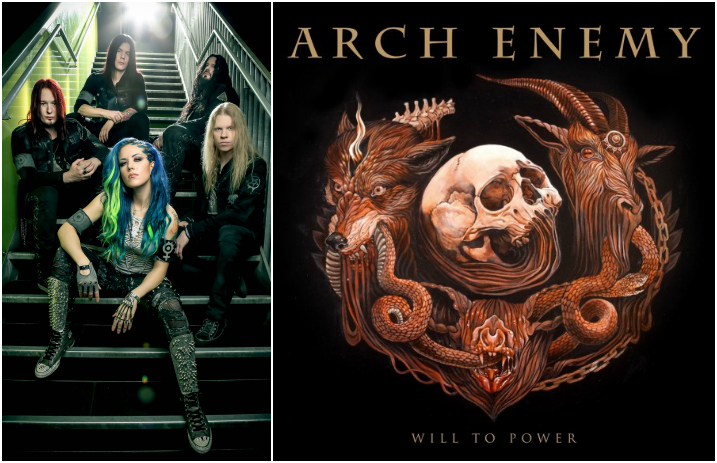 arch enemy reveal cover art for new album will to power
