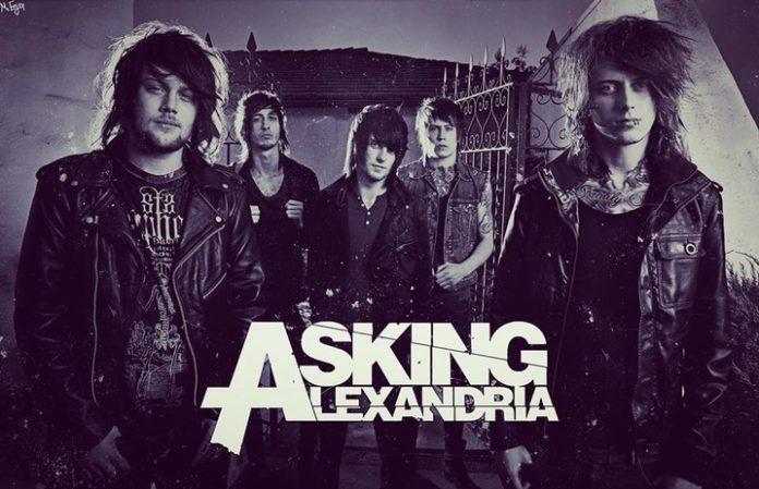 Fans react in a big way to Asking Alexandria's original lineup