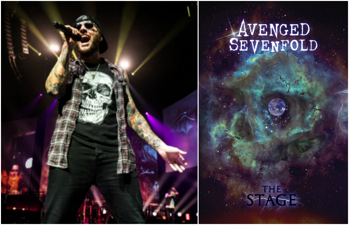 A7X's M  Shadows looks back on 'The Stage' surprise release