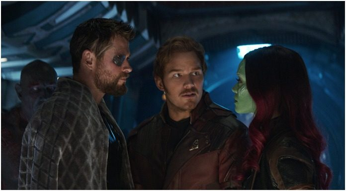 avengers infinity war chris pratt and chris hemsworth