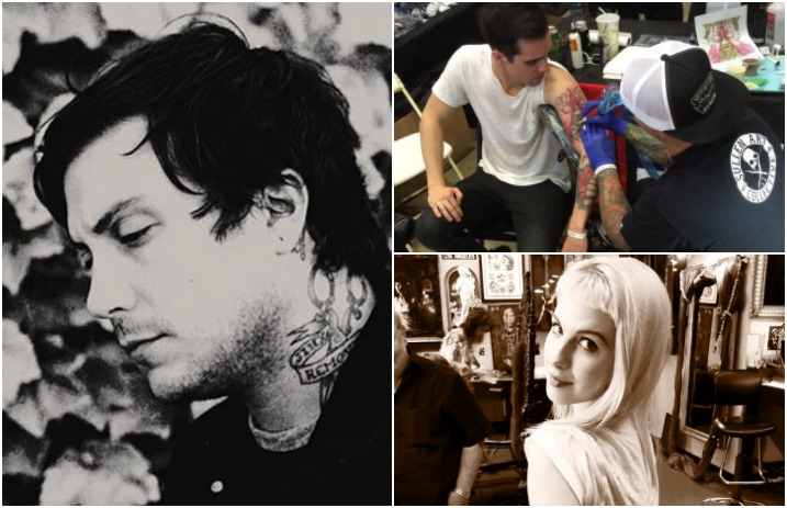 16 band members who have a tattoo of another band alternative press
