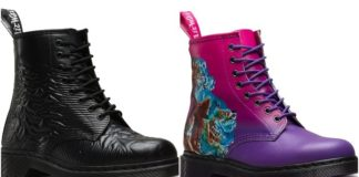 These Joy Division, New Order Doc Martens are filling our post-punk hearts