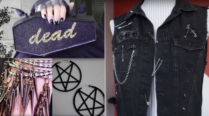 Check out these 20 DIY goth accessories that will make your friends jealous.