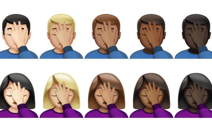 The facepalm emoji is real - UPDATED - Alternative Press