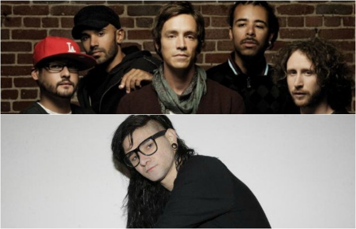 skrillex and incubus didn t just collaborate he produced and mixed