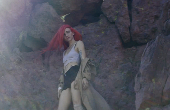 Watch Lights Bring Her Comic Book To Life In New Music Video For
