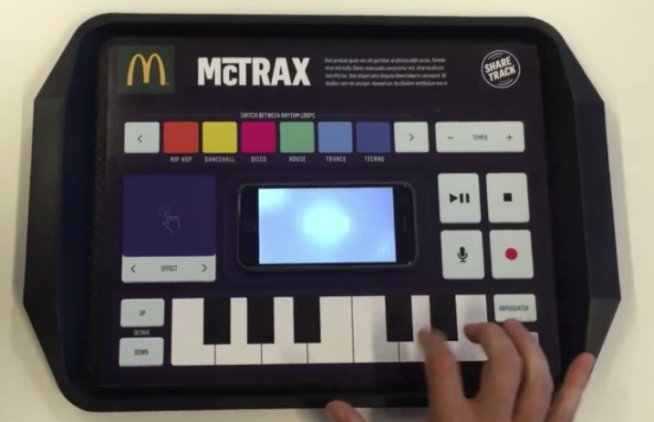 This McDonald's placemat lets you make music while you eat - Alternative Press