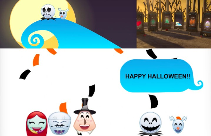for the release of disney stickers for the iphone disney has shared a three minute video retelling the nightmare before christmas only using emojisand