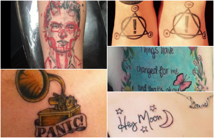11 Incredible Panic At The Disco Tattoos You Really Should See