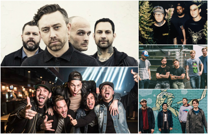 Rise Against and Sleeping With Sirens reveal a fall tour together, Hundredth drop the latest behind-the-scenes video for their new album, and Circa Survive ...