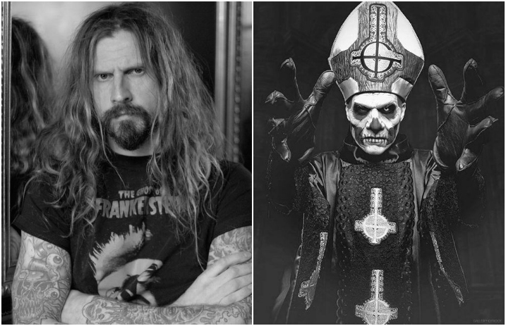 Rob Zombie Posts Photo Of Ghosts Papa Emeritus Without Makeup
