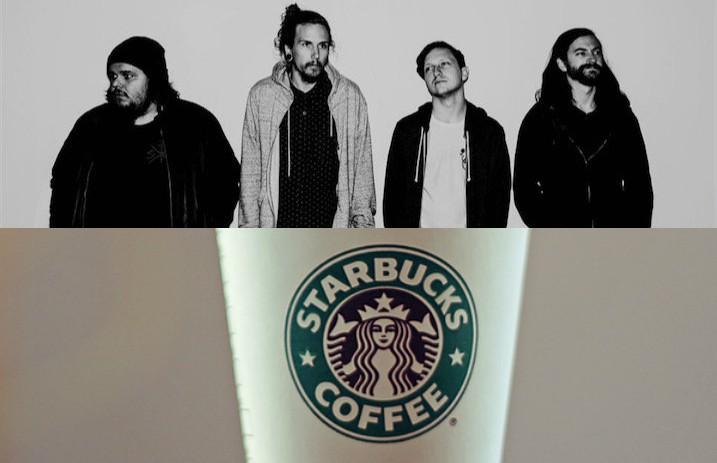 The Internet Thinks New Starbucks Latte Looks Like Metalcore