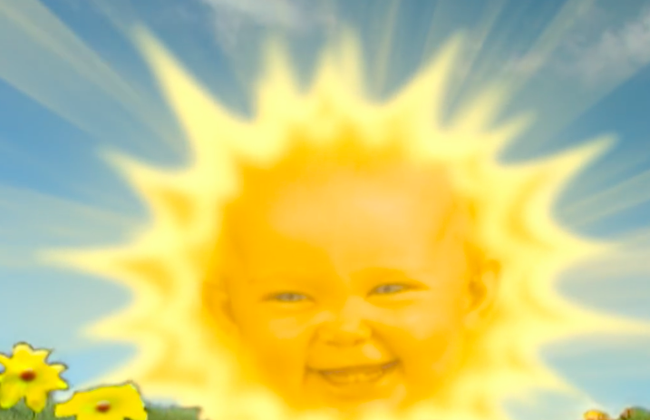 here s what the teletubbies sun baby looks like now alternative
