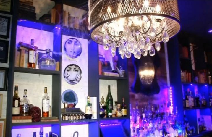 Check out this Tim Burton-themed NYC bar