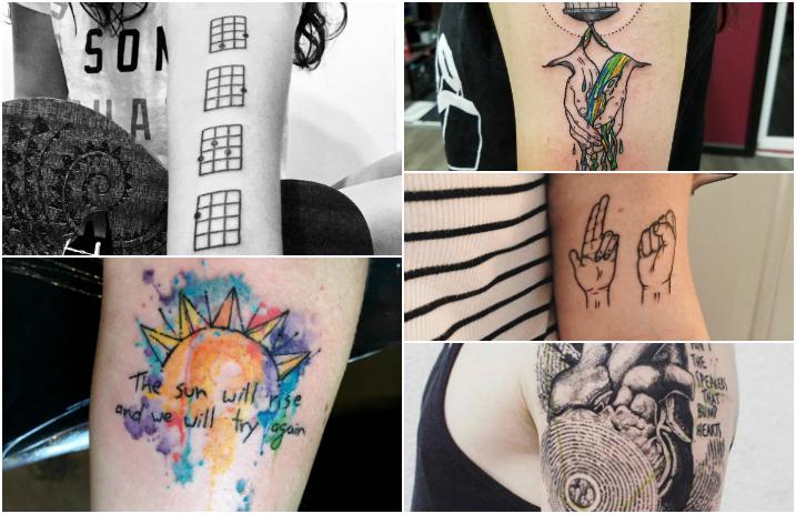 12 Amazing Twenty One Pilots Tattoos You Have To See Alternative Press