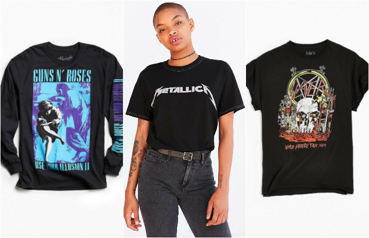 a8915f3af 10 classic designed band tees you can buy at Urban Outfitters right now