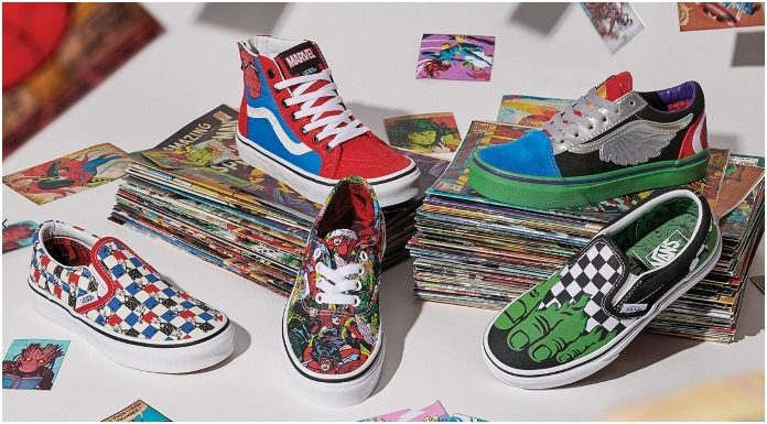 vans and marvel shoe collab
