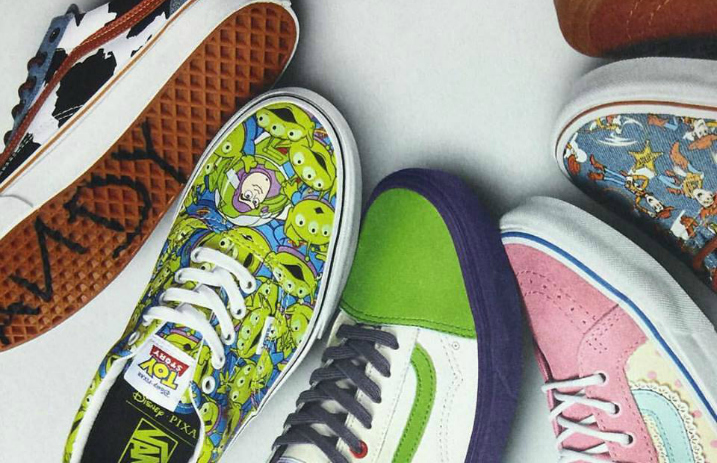 bcef8a65d201 Vans and Toy Story team up for new shoe line - Alternative Press