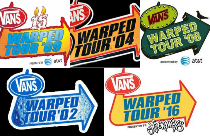 abdffa0eac The 10 bands who played Warped Tour the most