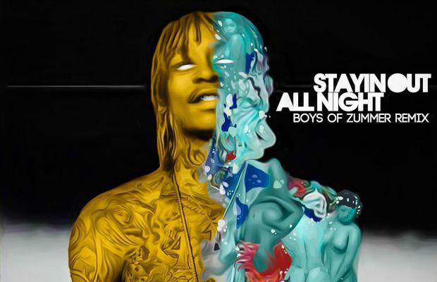 """Wiz Khalifa & Fall Out Boy remixed """"Stayin Out All Night""""—and it sounds amazing - Alternative Press"""