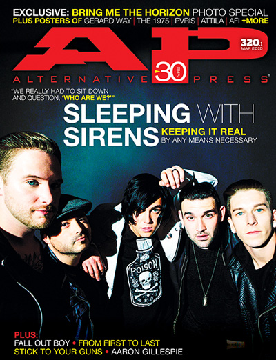 #320 Sleeping With Sirens - Alternative Press