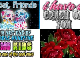 19 Myspace glitter graphics that will take you back to the good old days.