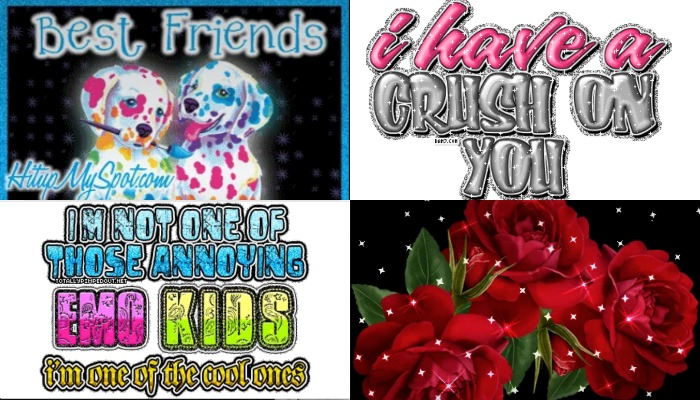 19 myspace glitter graphics that will take you back to the good old