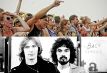 This video of Warped Tour attendees jamming out to Hall & Oates is a must-see.