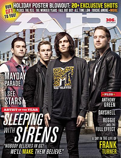 #306 Sleeping With Sirens - Alternative Press