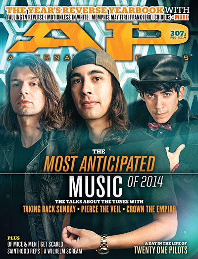 #307 Most Anticipated Of 2014 - Alternative Press