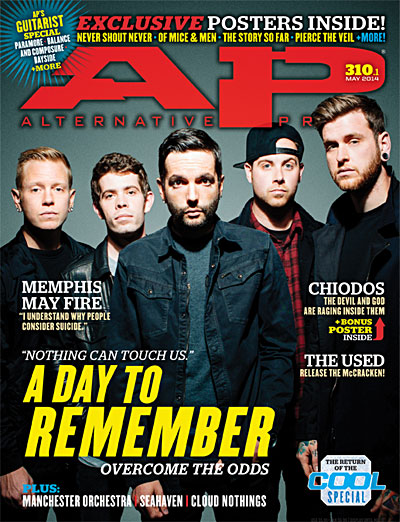 #310 A Day To Remember - Alternative Press